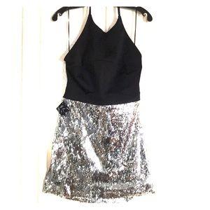 Nasty Gal Night Pulse Sequin Dress